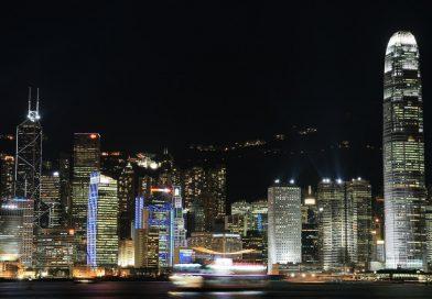 홍콩의 야경